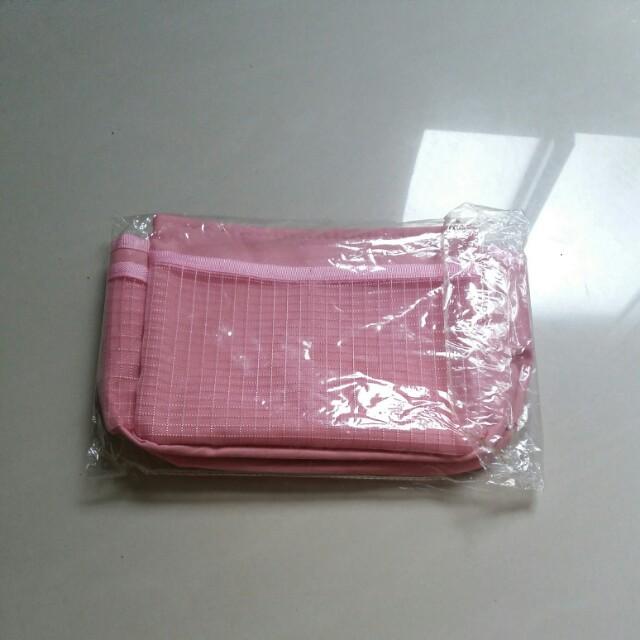 (全新)粉色收納包