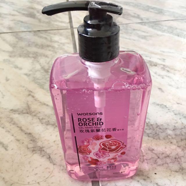 🎁玫瑰紫蘭花花香洗手乳