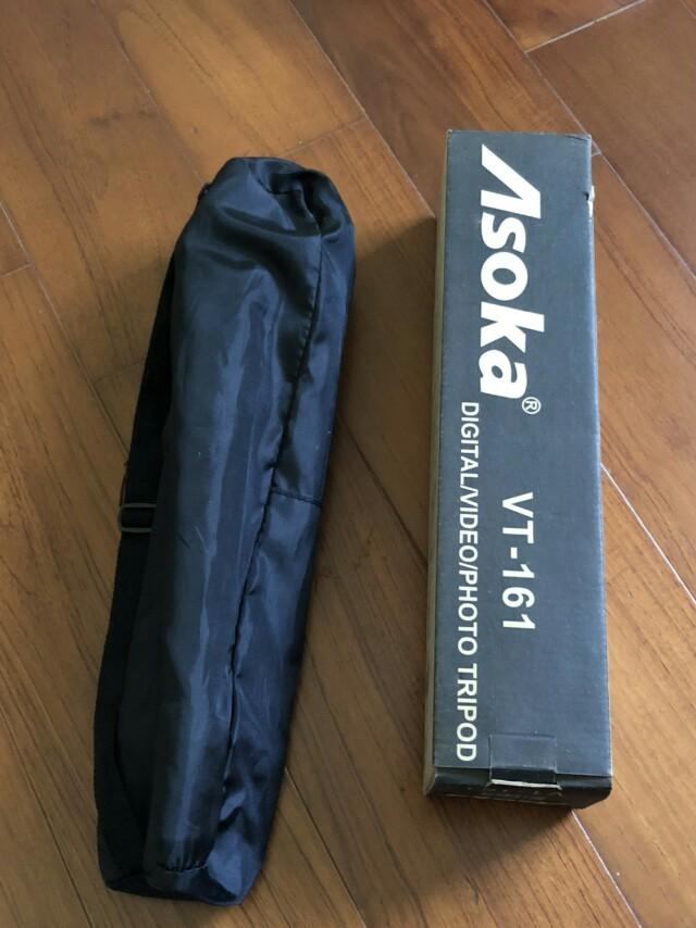 Asoka輕量相機腳架VT161