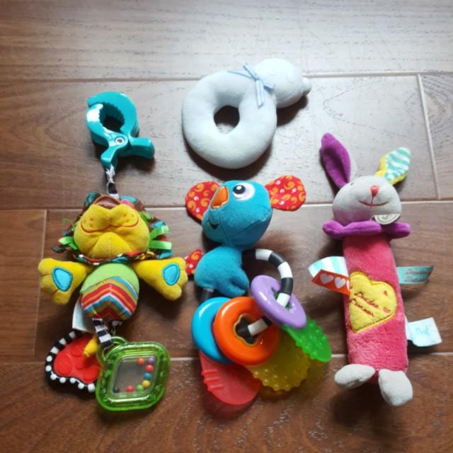 嬰幼兒固齒 安撫玩具