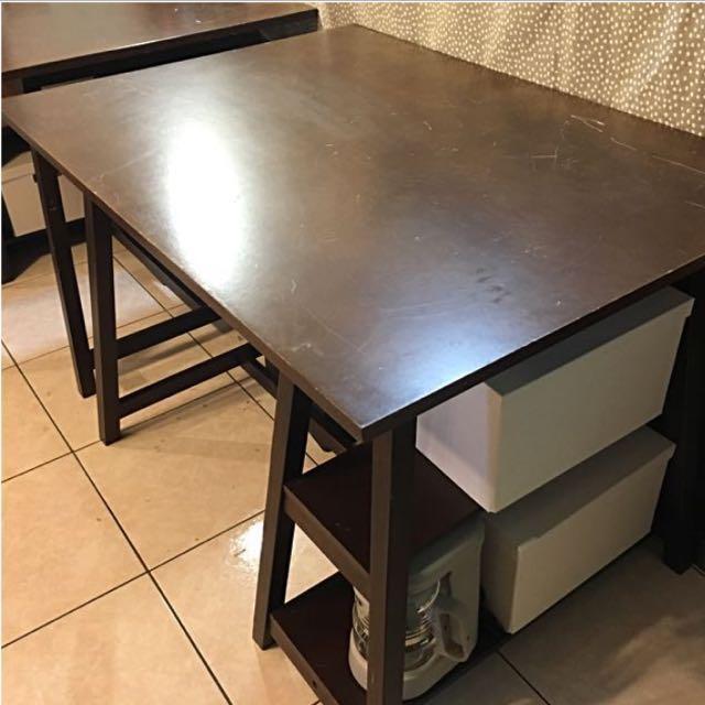 復古咖啡廳桌 實木工作桌