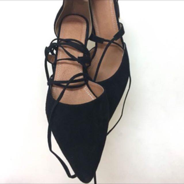 全新 羅馬風 綁帶高跟鞋👠