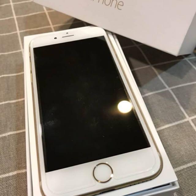 極新九成機 Iphone6 64g 金色