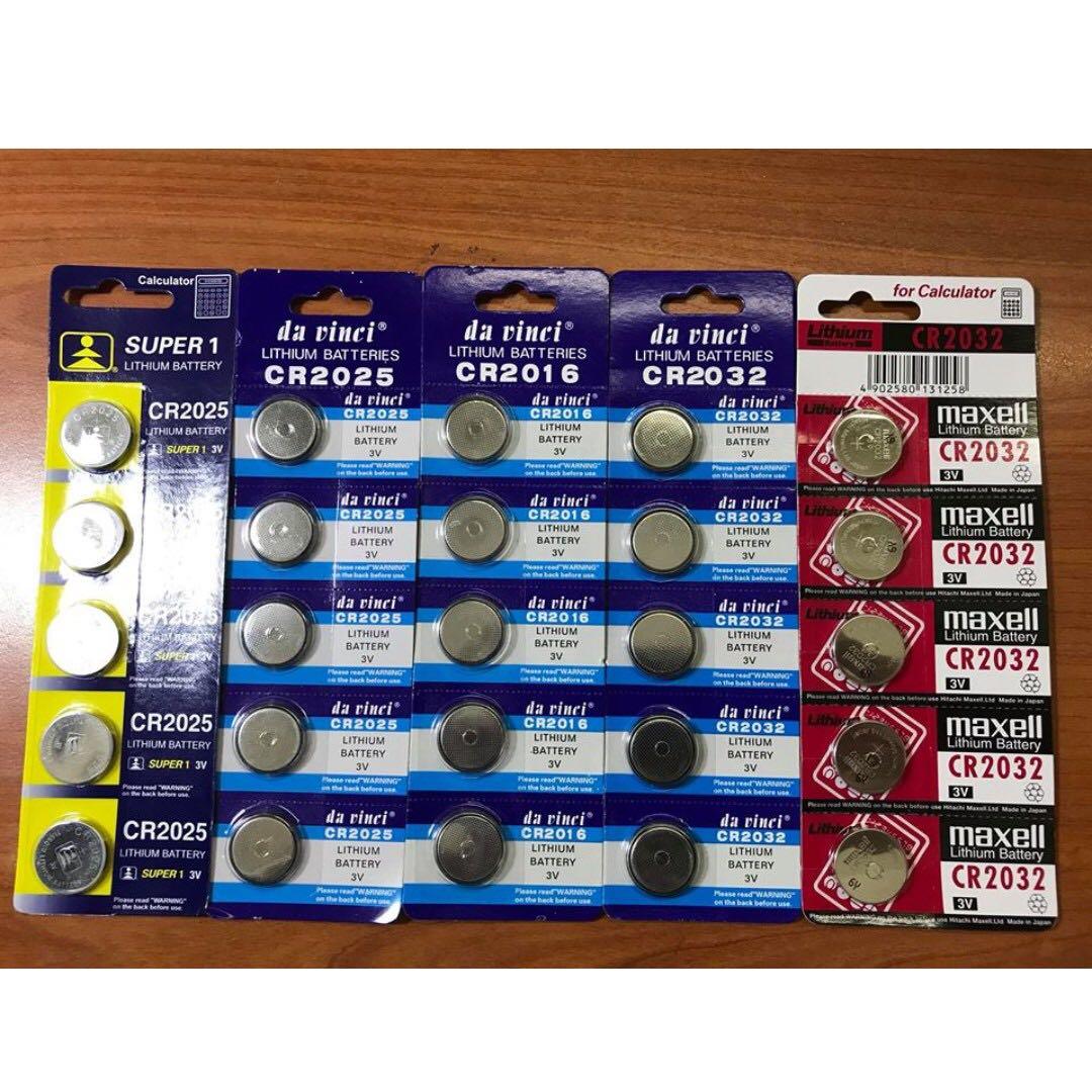 🔥 Lithium Cell / Auto Gate Battery / CAR REMOTE BATTERY / CALCULATOR BATTERY / 23AE / 27A / CR2016 / CR2025 / CR2032 / AG13 LR44 SR44W / AG10 LR1130 / AG4 LR626 337A / SR626SW / AG3 392A / AG1 364A LR621W