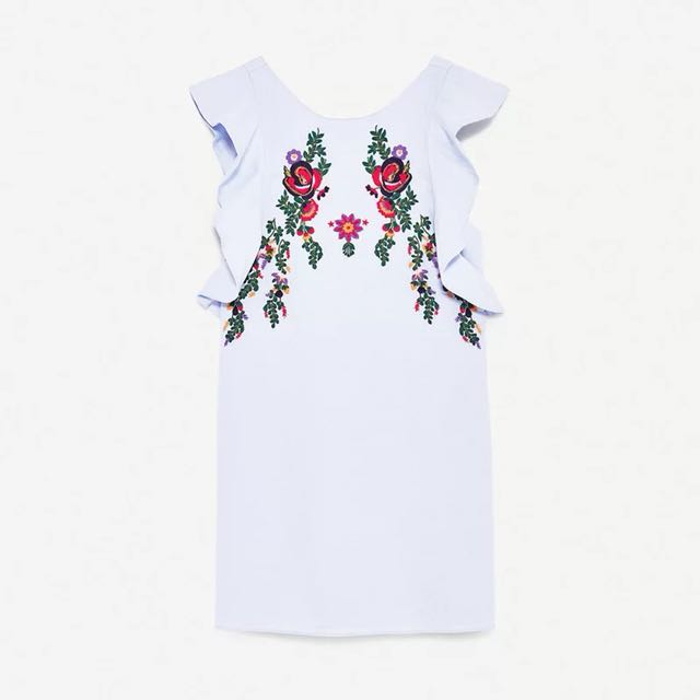 🆓 postage Embroidery dress