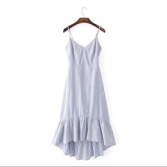 🆓 postage stripe dress
