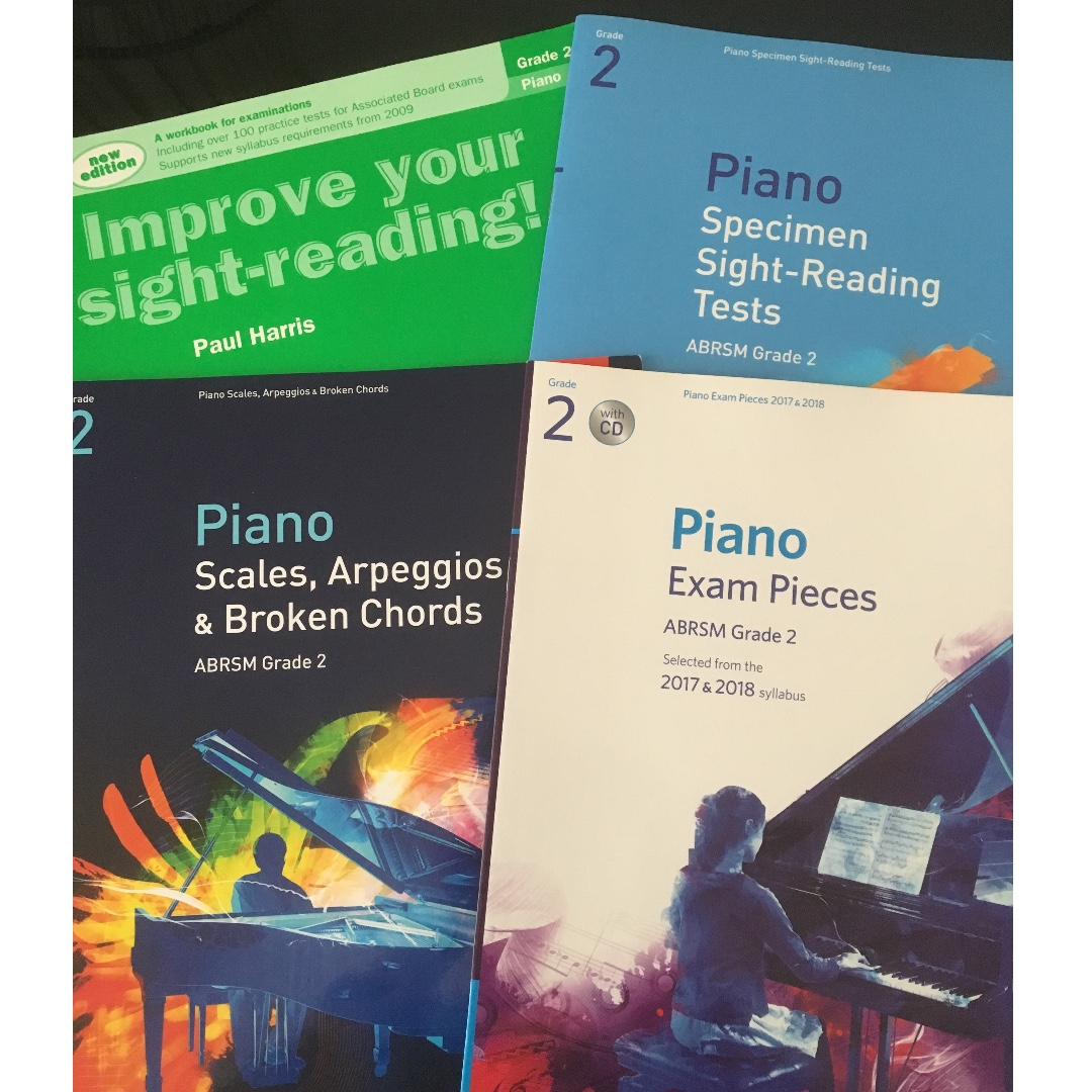 Improve Your Scales Piano Grade 2 Supports ABRSM New Syllabus Exam Music Book