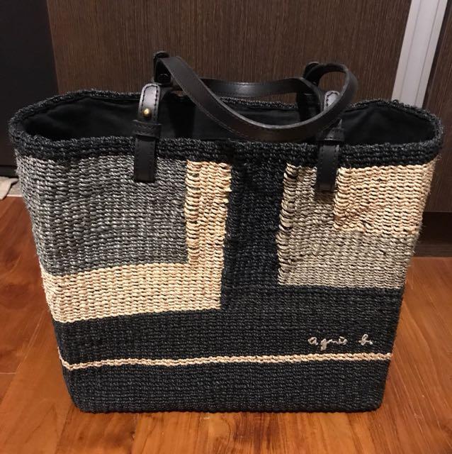Agnes b Woven Bag