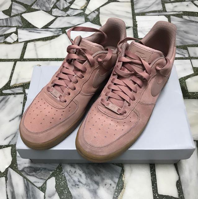 Air Force 1 07 SE Pink 粉紅 膠底 27cm 男女皆可