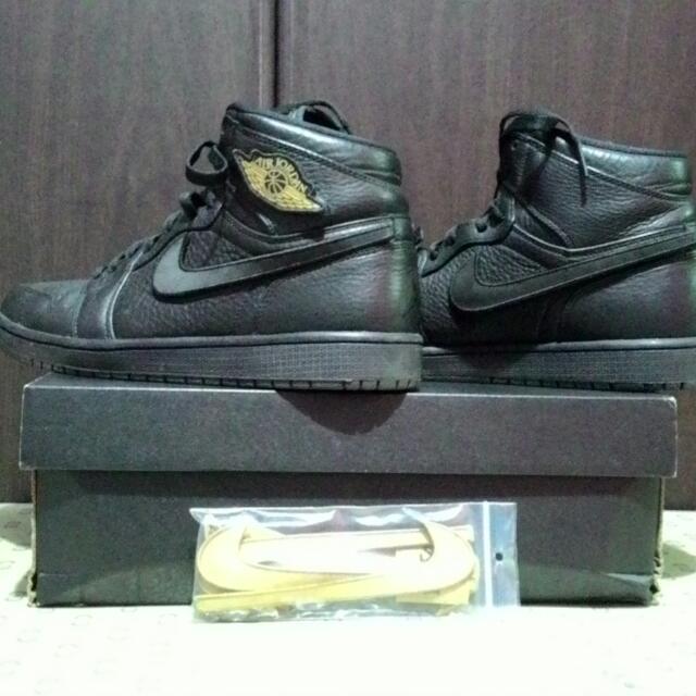 Air Jordan 1 Retro High BHM  (Authentic)