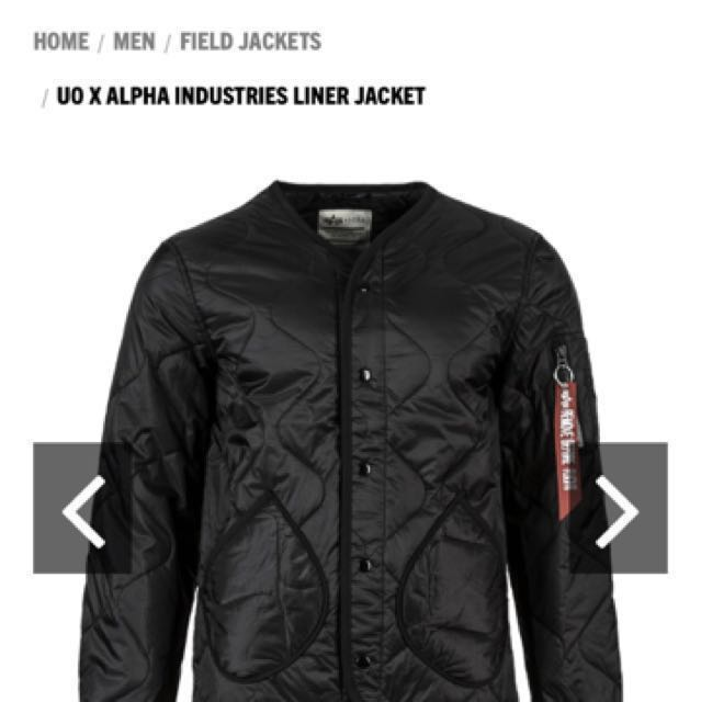 Alpha quilted jacket