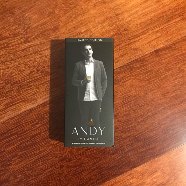Andy by Hamish Men's Cologne - Limited Edition