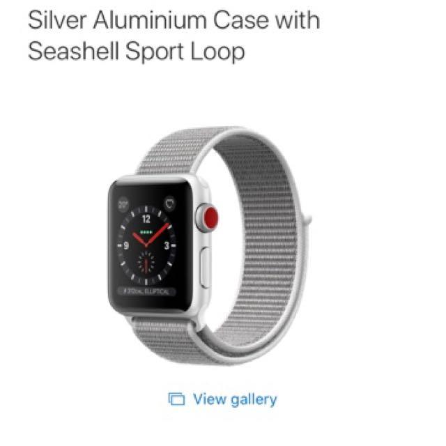 Apple Watch Series 3 Cellular Edition