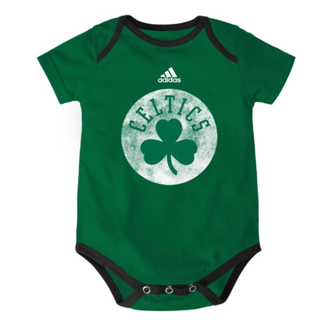 Authentic Adidas Onesies (Boston Celtics | Full Logo)