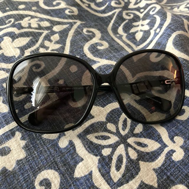 Authentic Coach Oversized Sunglasses