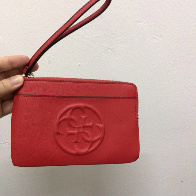 Authentic guess wristlet