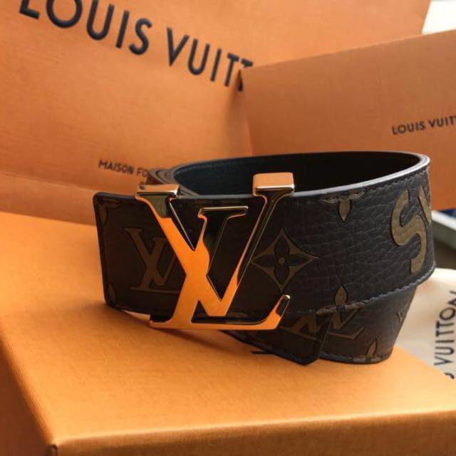 Authentic Limited Supreme X Louis Vuitton Belt