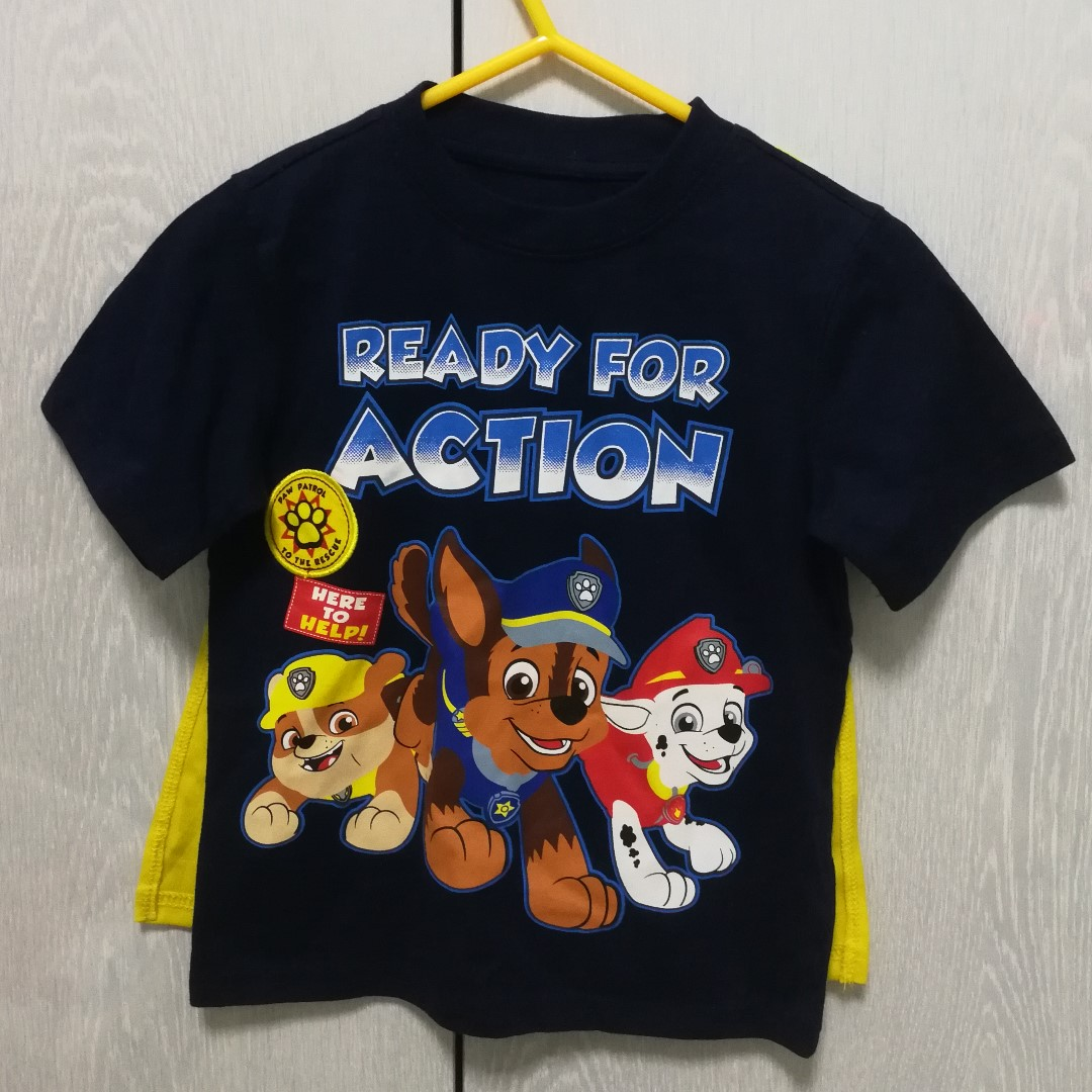 709a0e5e Authentic Paw Patrol T-shirt with Cape *Brand New* (Marshall, Chase ...