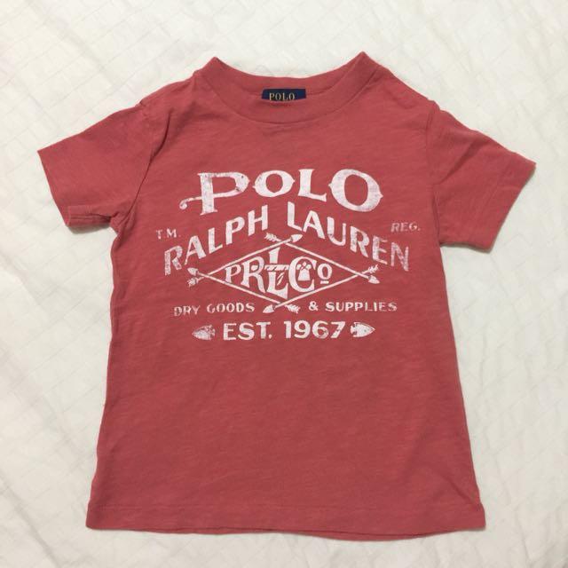 AUTHENTIC POLO RALPH LAUREN shirt size 3T