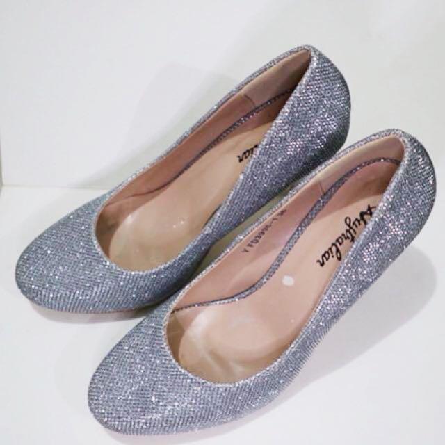 Auztralian High Heels - Silver