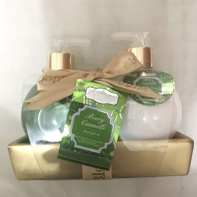 Bath Shower and Lotion Gift Set