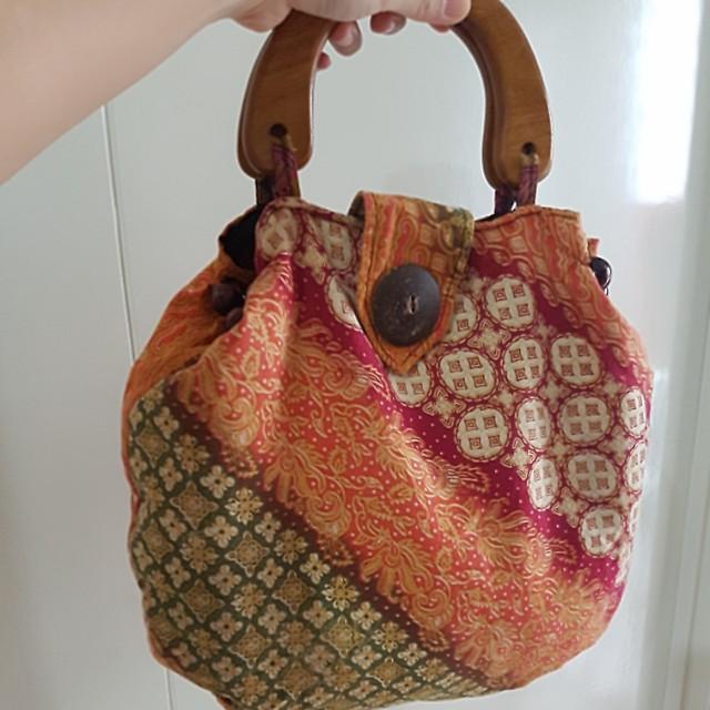 Batik bag for woman