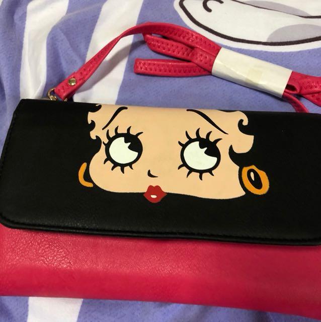 Betty boop sling bag