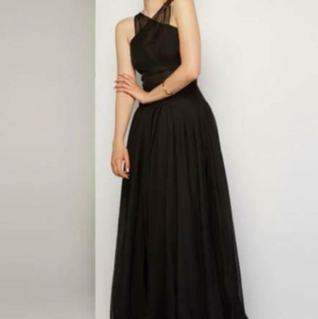 Black Imogen Ball Dress