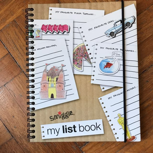 BLESSING smiggle list book