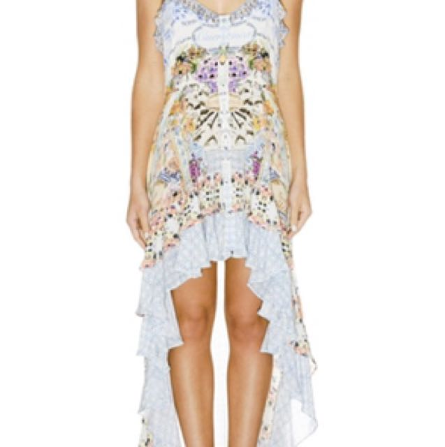 BNWT Camilla franks S girl next door high low dress rrp 650