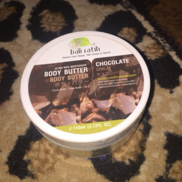 Body Butter Bali Ratih Chocolate