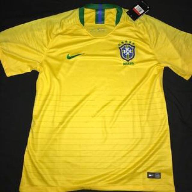 4cc44c69d Brazil Jersey World Cup 2018 , Sports, Sports Apparel on Carousell