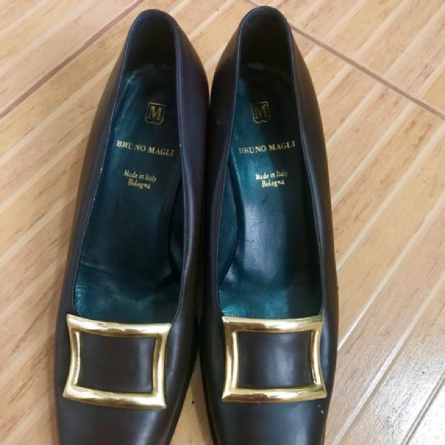 Bruno magli leather shoes