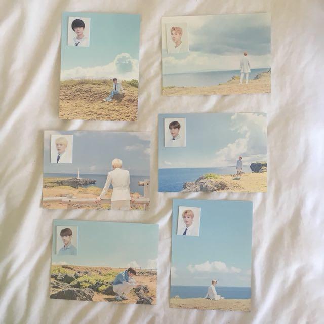 BTS 2018 Seasons Greetings Postcards and ID photos