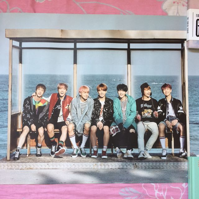 BTS YNWA POSTER OFFICIAL ROLLED