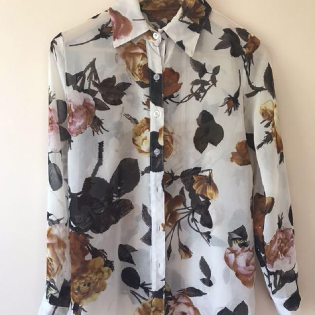 Bulk lot women's blouses Zara American Apparel