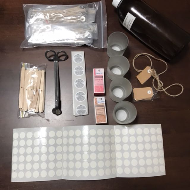 CANDLE MAKING BUNDLE
