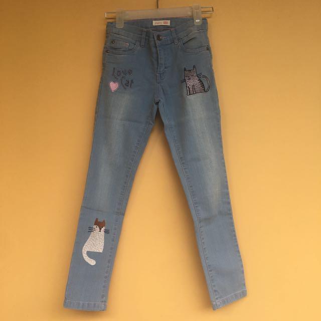 Celana jeans aero kucing