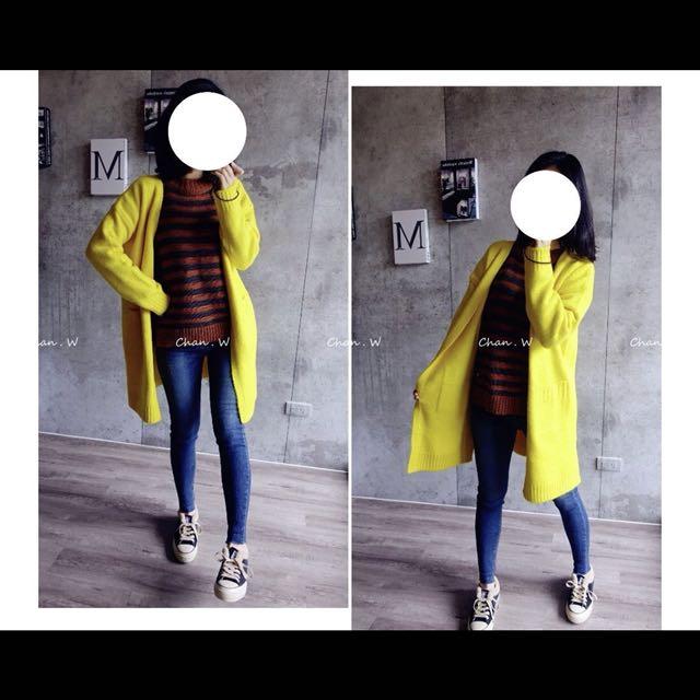 轉賣chan 韓 爆炸推薦款~高人氣雙樣式小毛衣