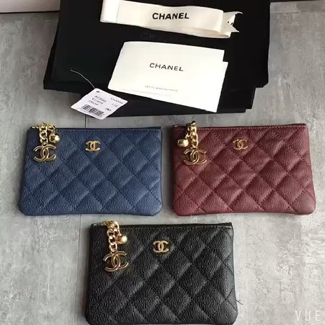 16df899a4ab0 Chanel mini O case, coin pouch/card holder, 15cm, Luxury, Bags ...