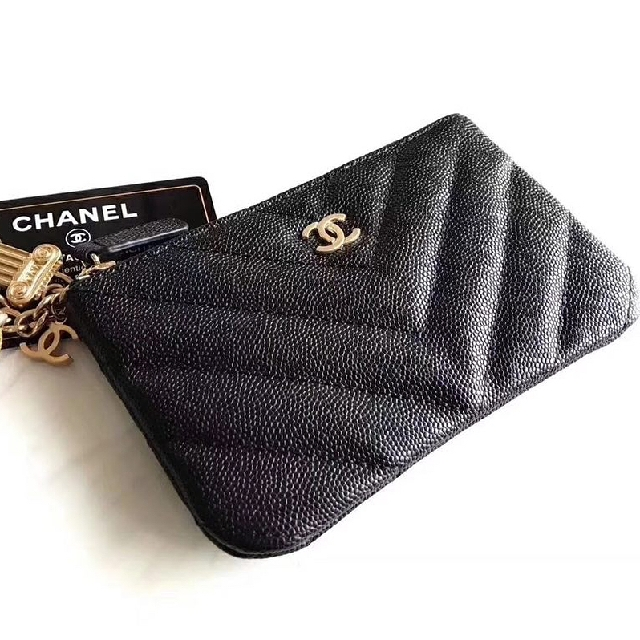 3ff8d5185c85 Chanel Mini O Case Coin Pouch Card Holder 15cm Luxury Bags