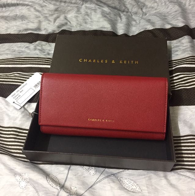 Charles & Keith 小ck 長夾