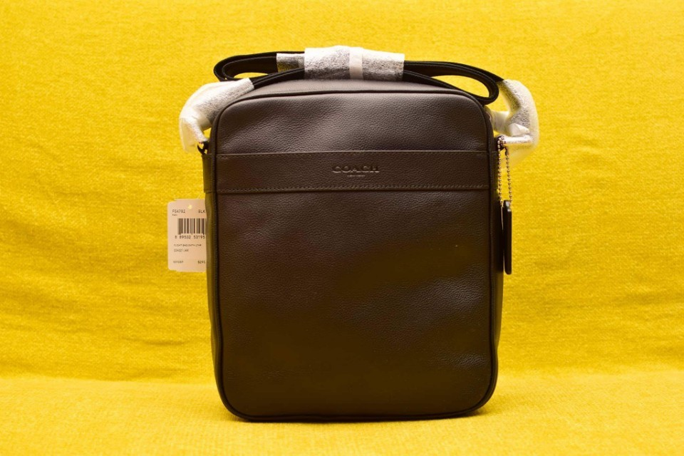 COACH CHARLES FLIGHT BAG IN SMOOTH LEATHER