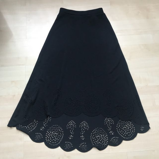 Chic Simple A Skirt