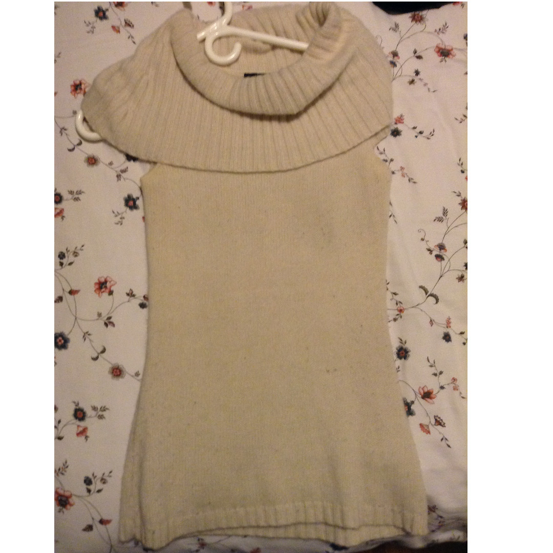 Cream short sleeve sweater - Size Xs from Jacob