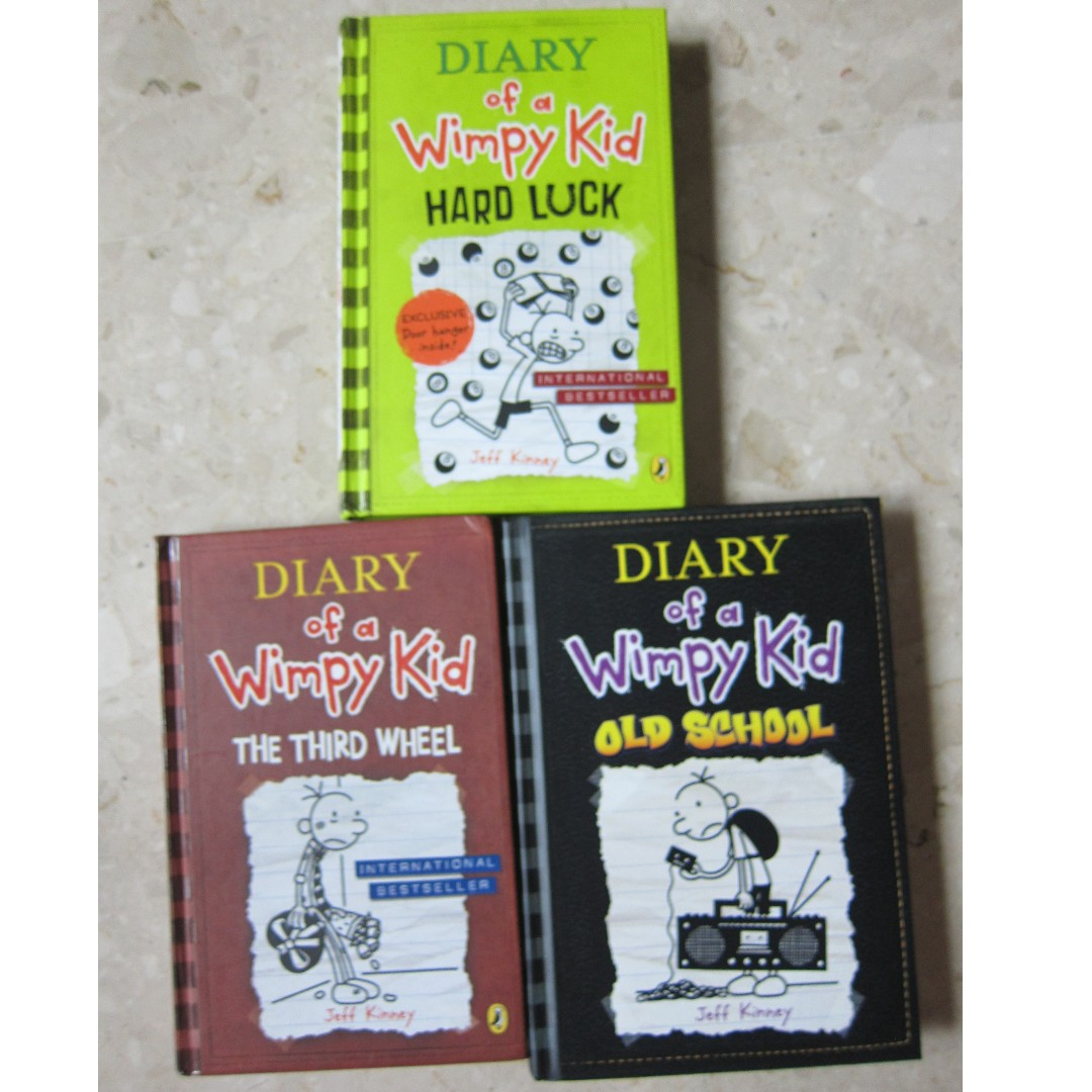 Diary of the wimpy kid hardcover hard luck the third wheel photo photo solutioingenieria Images