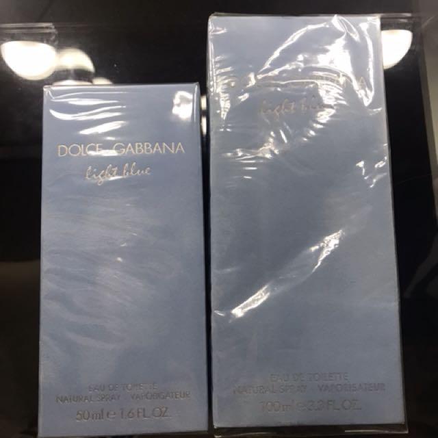 Dolce and Gabbanna Light Blue