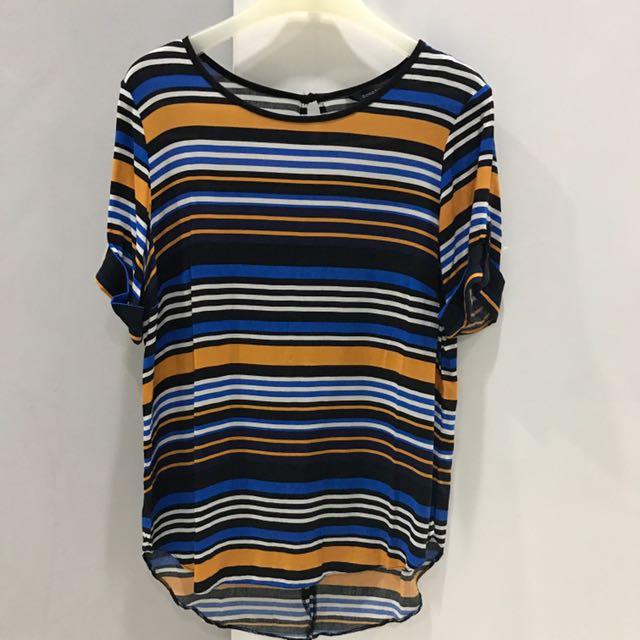 Dorothy Perkins stripes top