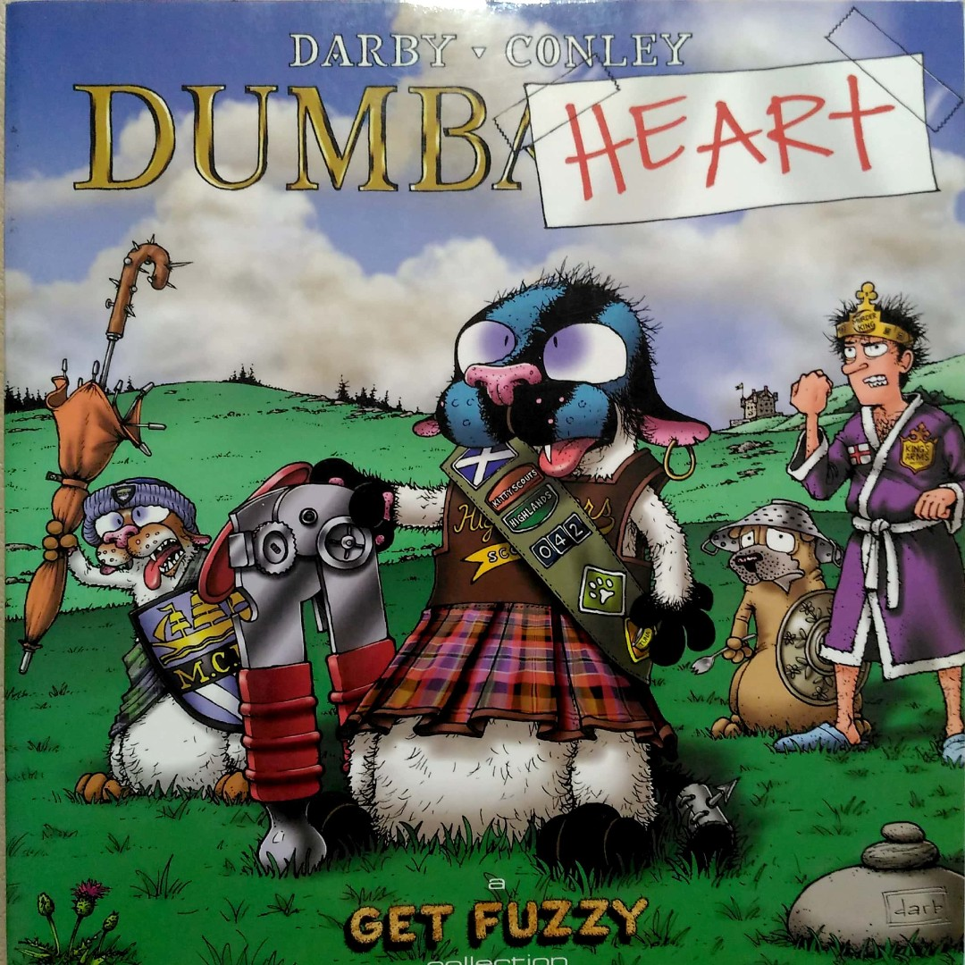 Dumbheart: A Get Fuzzy Collection by Darby Conley