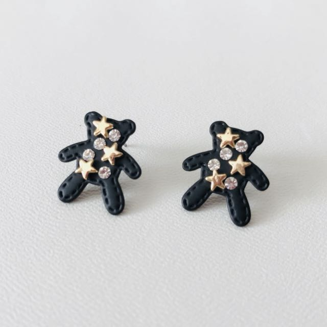 Ear Studs - Teddy Bear
